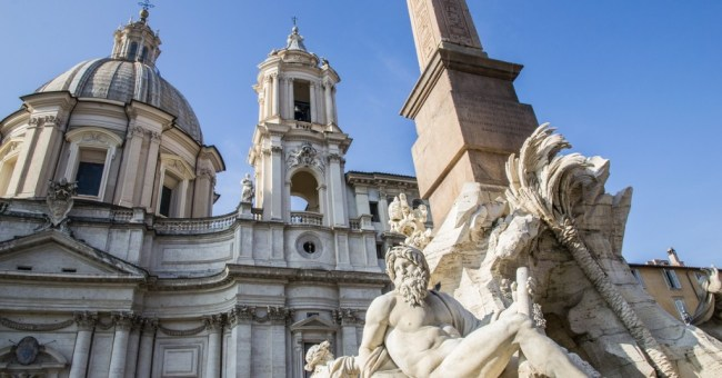 Piazza Navona is home to some of Bernini's most famous fountains, delicious deserts, and some of Rome's most enjoyable nightlife. Check it out here!