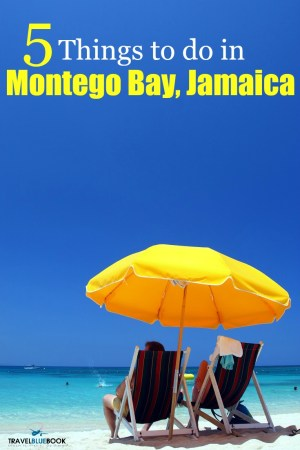 With hundreds of things to do in Montego Bay, the city is a perfect spot for your next beach vacation! Here are 5 of our favorites.