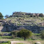 The acropolis of Mycenae