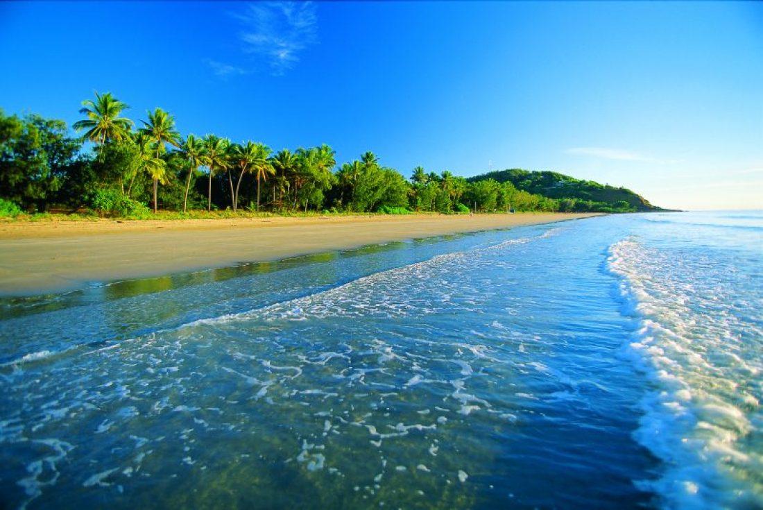 Four Mile Beach Port Douglas. Photo Tropical Tourism North QLD