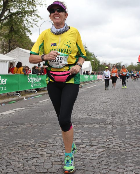 Running the cobbled streets of Paris was never going to be easy. But the rewards were immense.