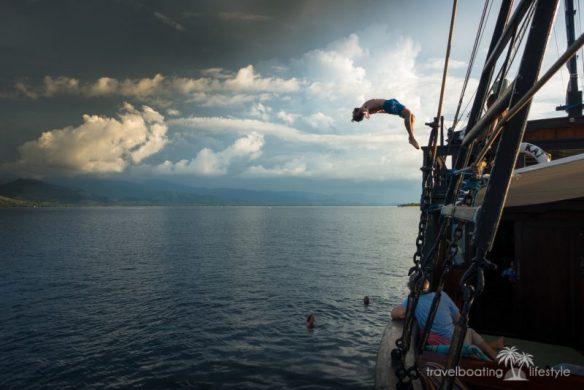 Sailing Indonesia Bali   Travel Boating Lifestyle   Fiona Harper travel writer
