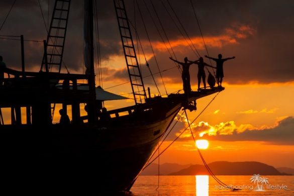Sailing Indonesia Bali | Travel Boating Lifestyle | Fiona Harper travel writer