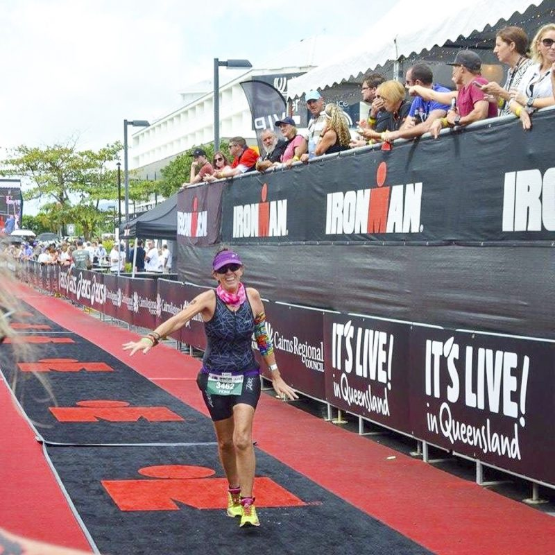 Ironman 70.3 finish Photo Will Swim & Tri