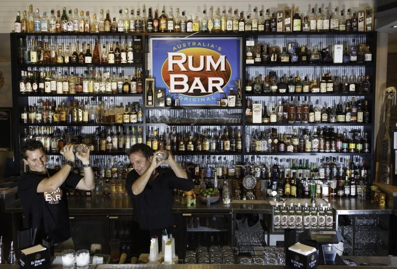 Rum Bar, Fish D'Vine Airlie Beach, Queensland | Travel Boating Lifestyle by Fiona Harper travel writer