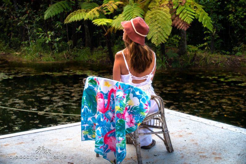 Tesalate Beach Towel | Travel Boating Lifestyle