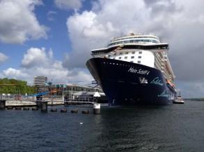 Mein Schiff 4 Entdeckertag in Kiel