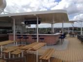 Mein Schiff 4 Entdeckertag - Außenalter-Bar
