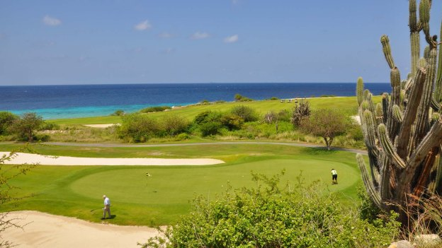 The Hyatt Regency Curacao Golf Resort, Spa & Navy: try the 18 holes of the 'Old Quarry'.