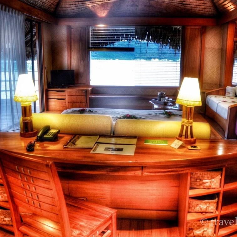 Bureau met slaapkamer én zeezicht.