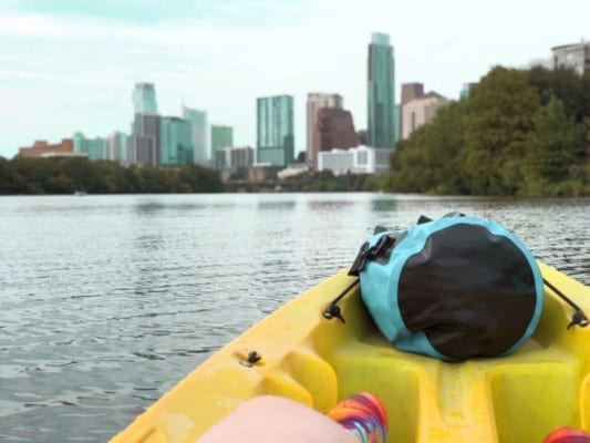 Rent a river kayak from Epic SUPS