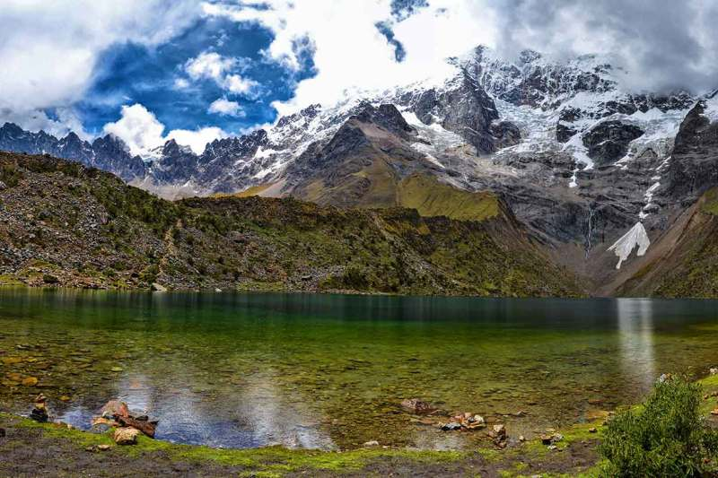 Humantay Lake in Cusco Peru