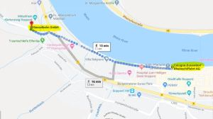 Walking route to Boppard's chair lift