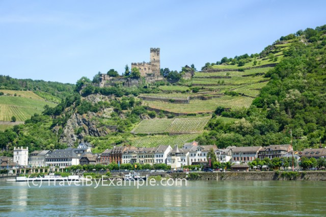 There are lots of castles at Rhine Gorge