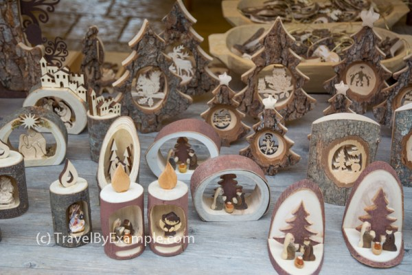 Authentic souvenirs at Hallstatt