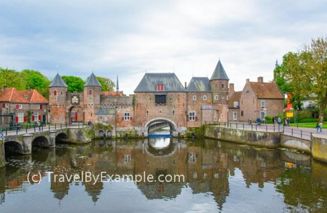 Koppelpoort - old city gates in Amersfoort