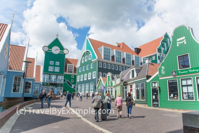 Colorful houses of Zaandam