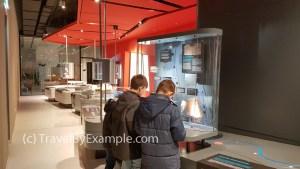 Small museum inside the Castellum