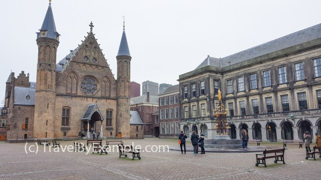 Binnenhof at The Hague