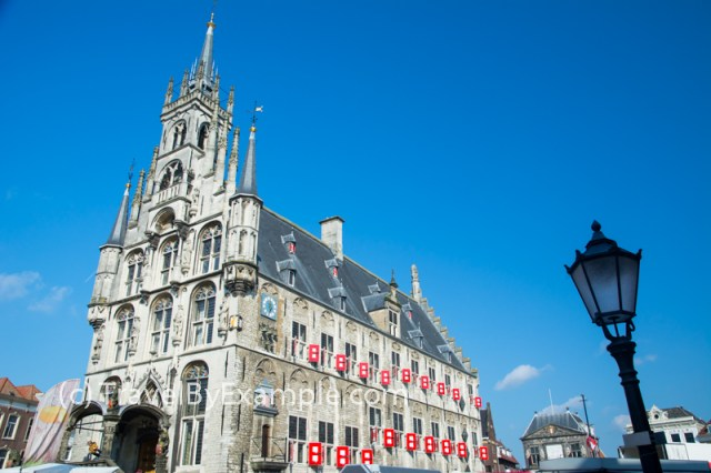 The 15th century Gouda Town Hall