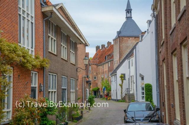 Muurhuizen (or Wall Houses) street in Amersfoort