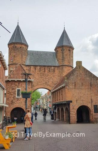 Kamperbinnenpoort - the oldest city gate of Amersfoort