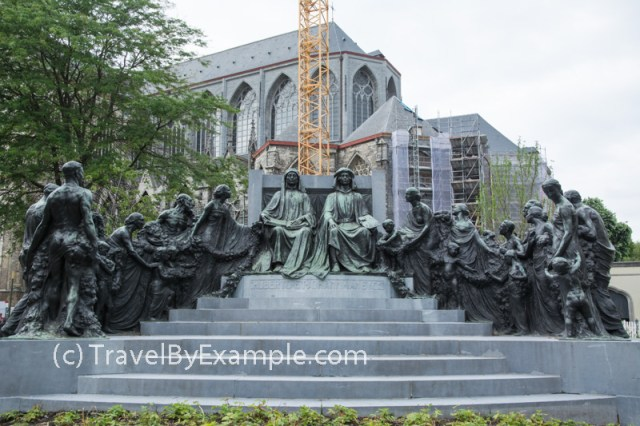 Monument of the Van Eyck Brothers
