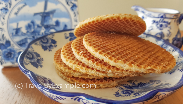 Travel By Example - Dutch syrup waffles
