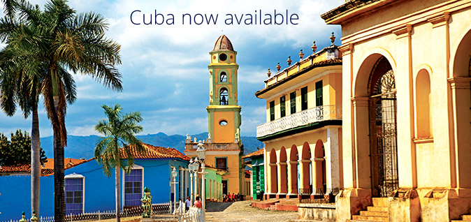 Experience CUBA Now!