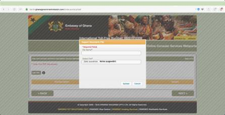 Ghana Visum Application Germany