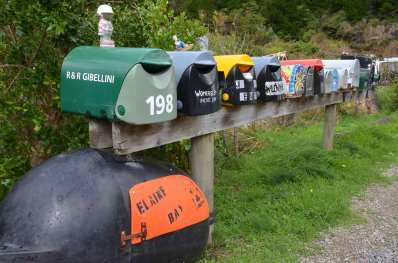 Characterfull letterboxes Elaine Bay