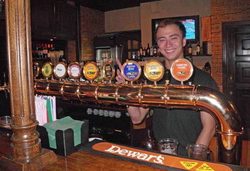 Bigger selections of craft beer