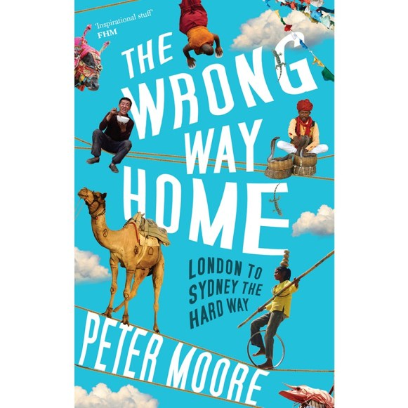 In 1994, Peter Moore set himself a remarkable travel challenge: London to Sydney for just AUD$5,000. The catch? He wasn't allowed to fly. At all. Travelling overland through 25 countries, Peter experienced a hippie adventure like no other, and then some: the world's most expensive disco in Albania, the opium fields of Laos, student riots in Jakarta, an all-night beach rave on a small island in Thailand. The tagline 'funny, irreverent and acutely observed' is bang on the money. Expect a lot of dry wit. A must-read for adventure seekers.