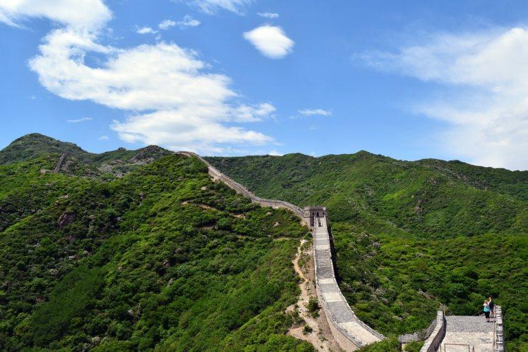החומה הגדולה - שרידים משושלת מינג (צילום: טל ניצן)