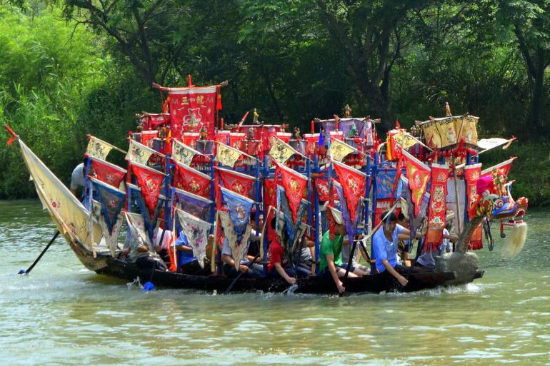 פסטיבל סירות הדרקון (צילום: טל ניצן)