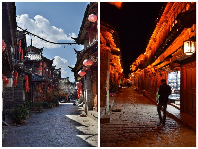 סמטאות ליג'יאנג בלילה וביום (צילום: טל ניצן)