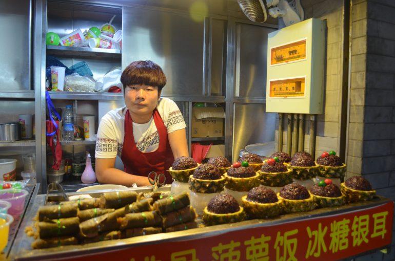 חטיפים ייחודיים בשוק האוכל (צילום: נוגה פייגה)
