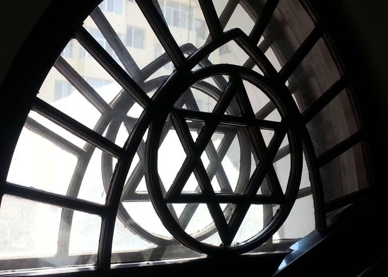 בית הכנסת החדש בחרבין (צילום: טל ניצן)