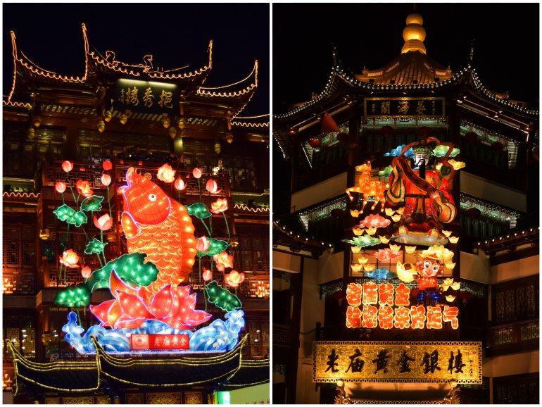 """""""העיר העתיקה של שאנגחאי"""" היא תפאורה נהדרת לפסטיבל (צילום: טל ניצן)"""
