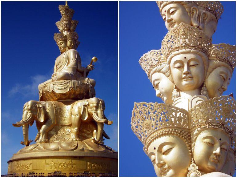 פסלו המפורסם של פוש'יאן (צילום: טל דרניצקי)