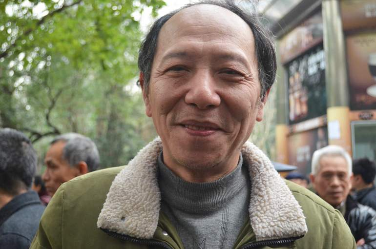 סיאו, שאנגחאי. חלק מהדור האבוד של סין (צילום: נוגה פייגה)