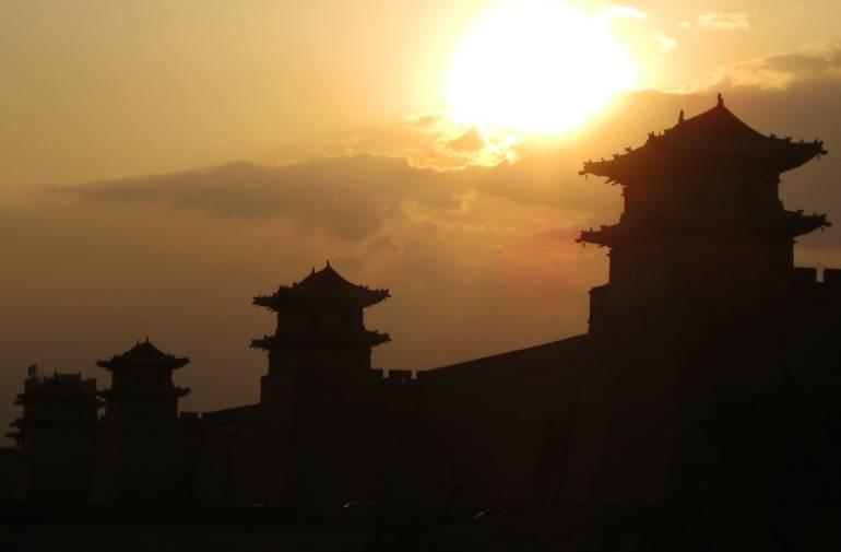 חומת העיר העתיקה של דאטונג (צילום: שני אפלבאום)
