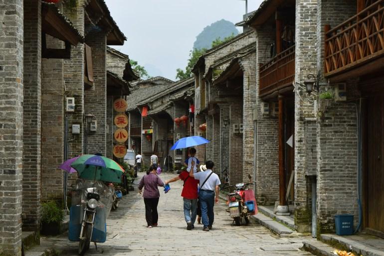הרחוב העתיק בש'ינגפינג (צילום: טל ניצן)