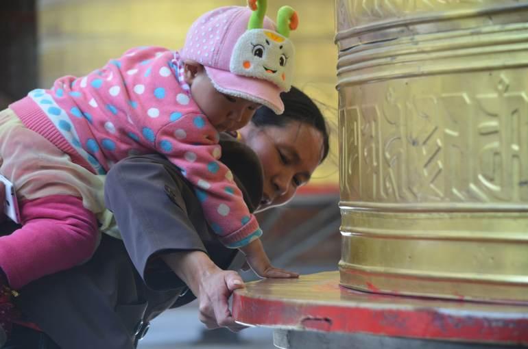 דו-קיום יוצא דופן בין טיבטים לסינים (צילום: נוגה פייגה)