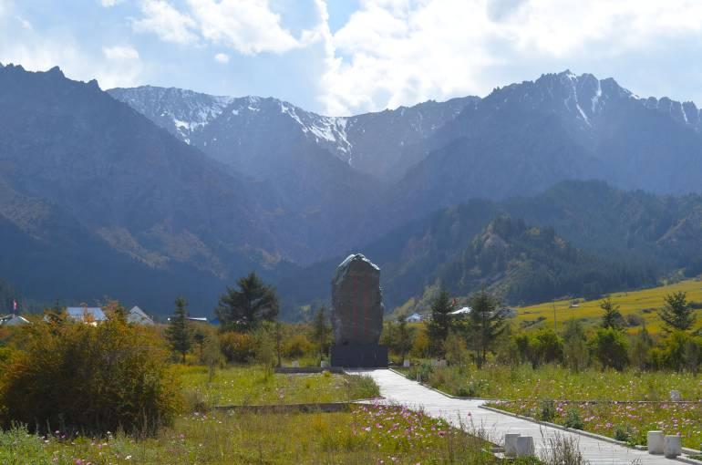 התיישבות מיעוט היוגור במאטי סה (צילום: נוגה פייגה)