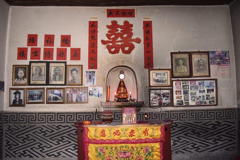 מקדש משפחתי במרכז הטולואו (צילום: טל ניצן)