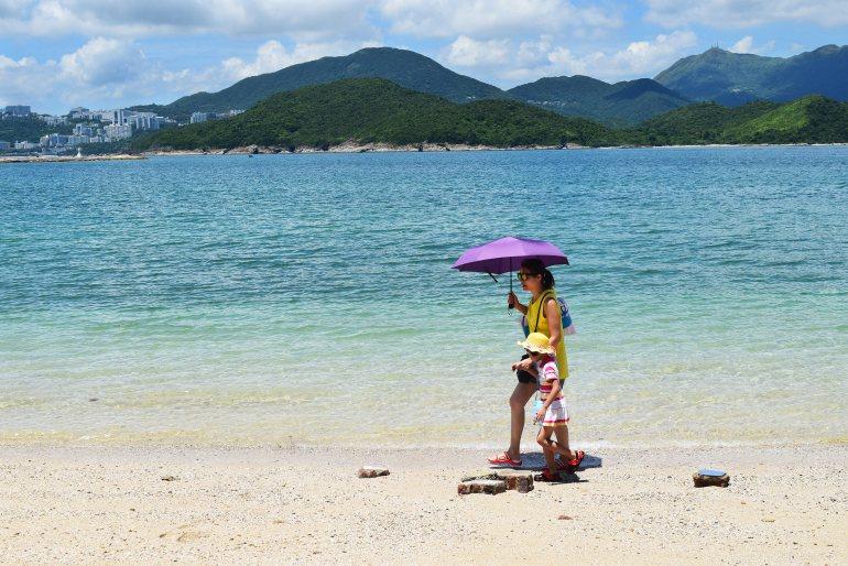 חופי רחצה נעימים באי החד (צילום: טל ניצן)