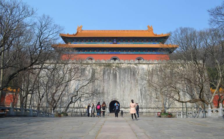 אחוזת הקבר של מינג ש'יאו-לינג (צילום: נוגה פייגה)