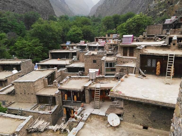בתיהם של בני הצ'יאנג בטאופינג (צילום: שני אפלבאום)