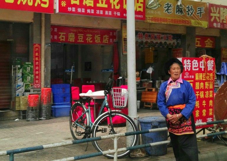 מסעדות פועלים באזור החדש של טאופינג (צילום: שני אפלבאום)